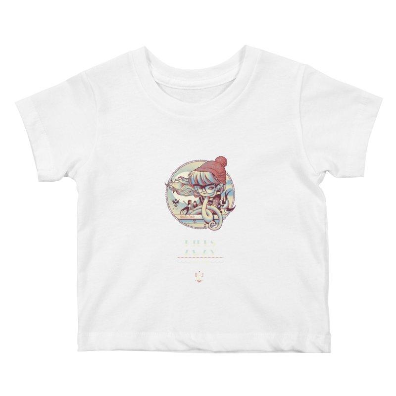 MILES AWAY - JoNAH Kids Baby T-Shirt by mfk00's Artist Shop