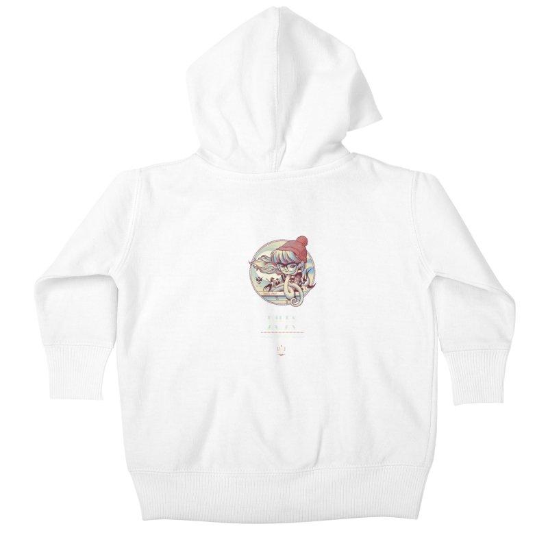 MILES AWAY - JoNAH Kids Baby Zip-Up Hoody by mfk00's Artist Shop