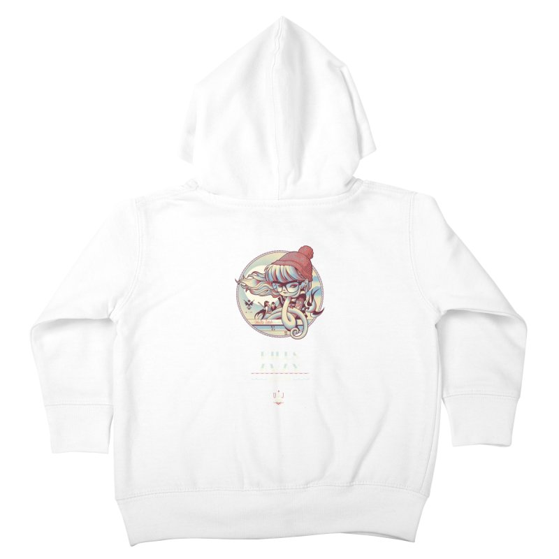 MILES AWAY - JoNAH Kids Toddler Zip-Up Hoody by mfk00's Artist Shop