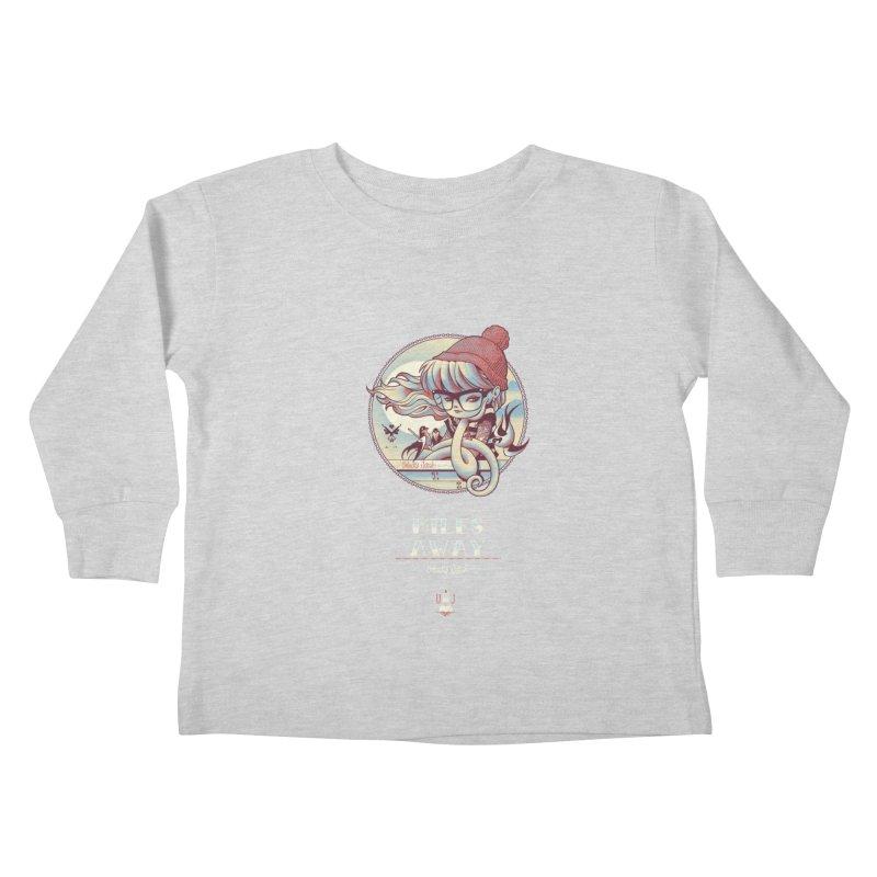 MILES AWAY - JoNAH Kids Toddler Longsleeve T-Shirt by mfk00's Artist Shop