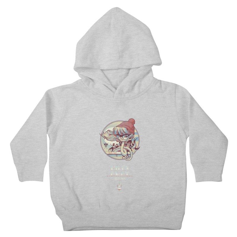 MILES AWAY - JoNAH Kids Toddler Pullover Hoody by mfk00's Artist Shop