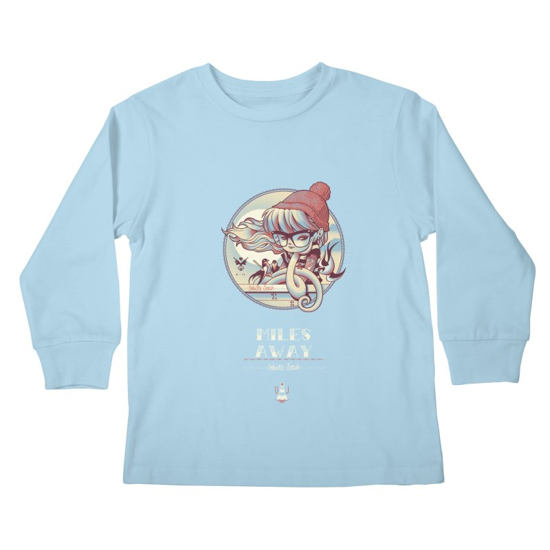 MILES AWAY - JoNAH Kids Longsleeve T-Shirt by mfk00's Artist Shop