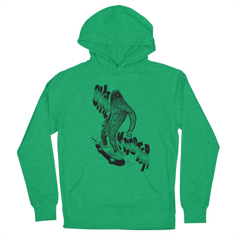 SK8 MONSTER Women's Pullover Hoody by mfk00's Artist Shop