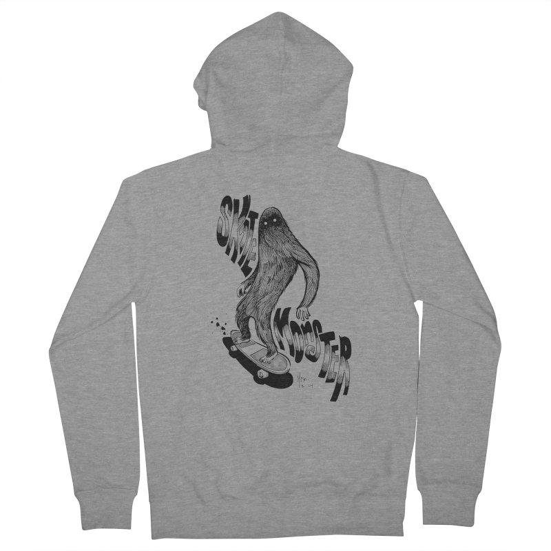 SK8 MONSTER Men's Zip-Up Hoody by mfk00's Artist Shop