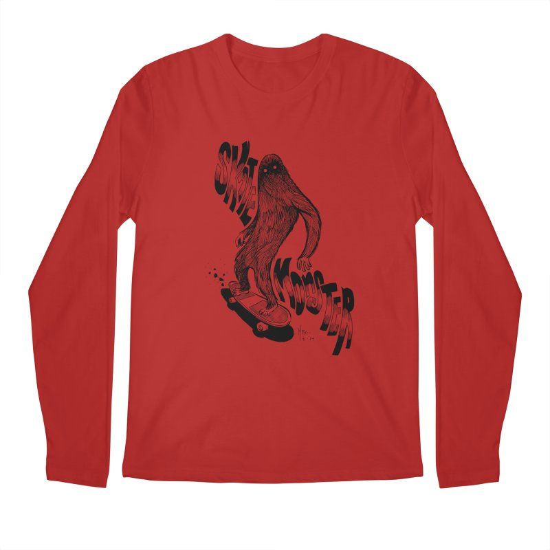 SK8 MONSTER Men's Longsleeve T-Shirt by mfk00's Artist Shop