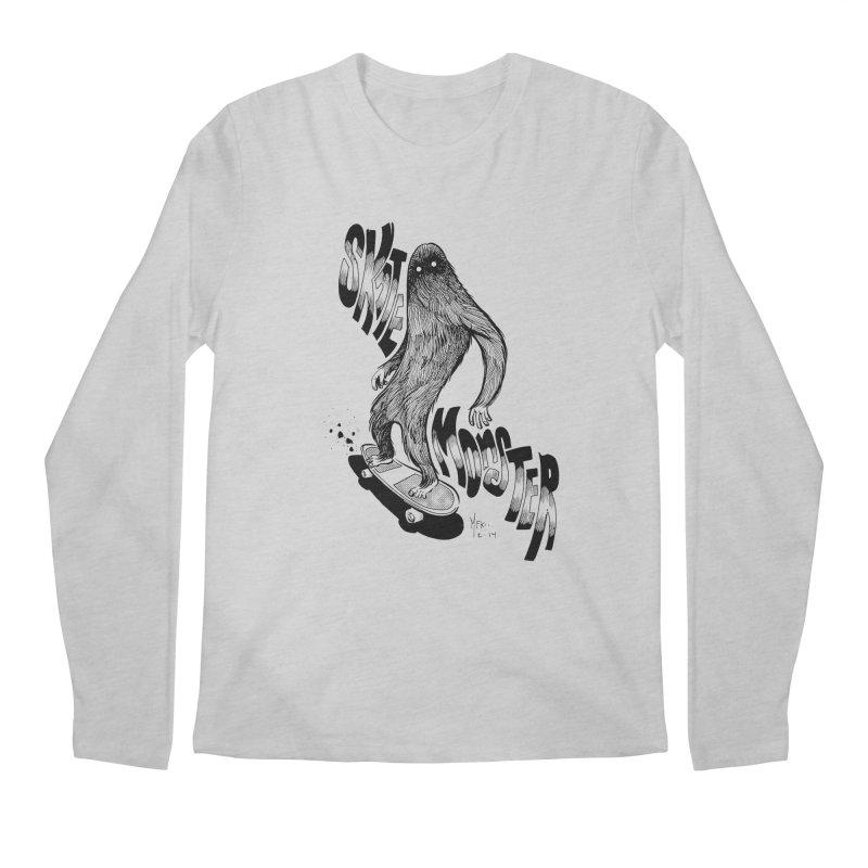 SK8 MONSTER Men's Longsleeve T-Shirt by mfk00's Artist Shop