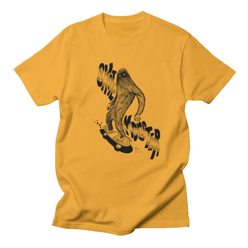 SK8 MONSTER Men's T-Shirt by mfk00's Artist Shop