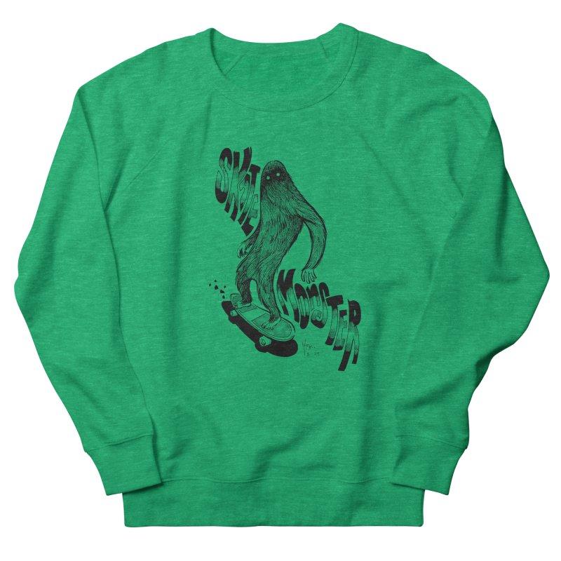 SK8 MONSTER Women's Sweatshirt by mfk00's Artist Shop