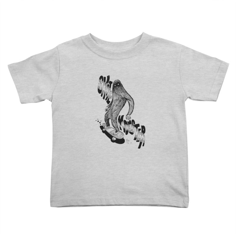 SK8 MONSTER Kids Toddler T-Shirt by mfk00's Artist Shop