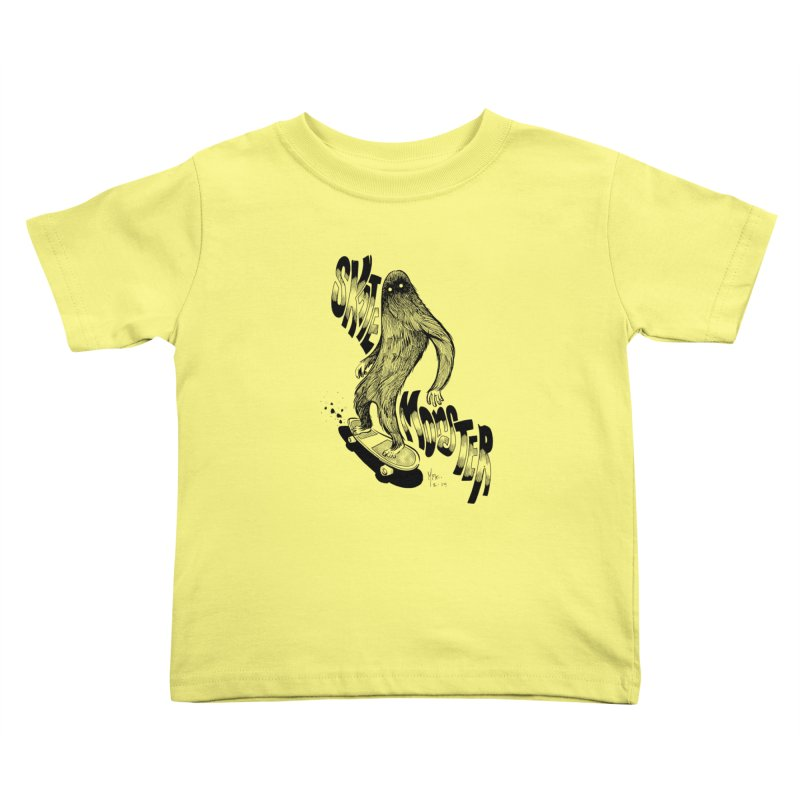 SK8 MONSTER Kids Toddler T-Shirt by mfk00's Artist Shop