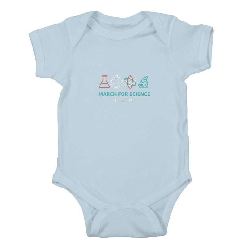 March for Science Houston Kids Baby Bodysuit by March for Science Houston