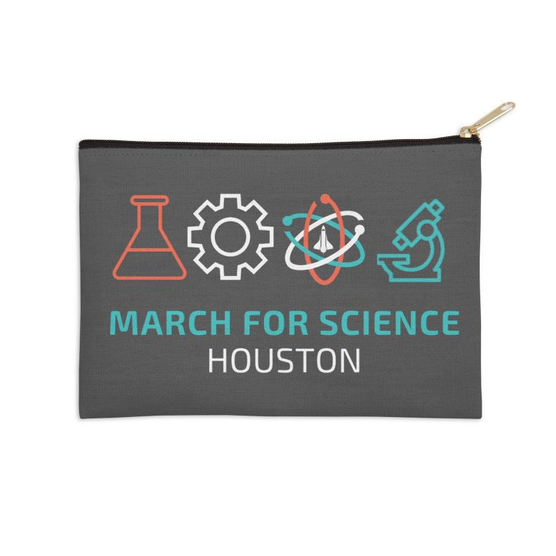 March for Science Houston Accessories Zip Pouch by March for Science Houston