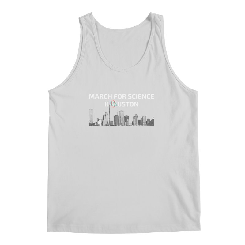 Houston Skyline - MFSH Men's Tank by March for Science Houston