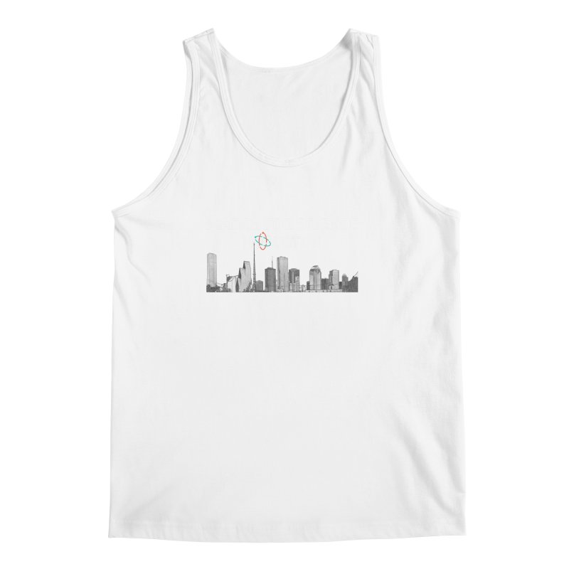 Houston Skyline - MFSH Men's Regular Tank by March for Science Houston