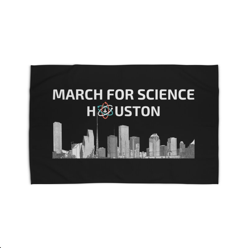 Houston Skyline - MFSH Home Rug by March for Science Houston