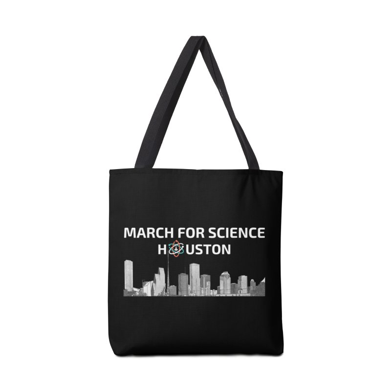 Houston Skyline - MFSH Accessories Tote Bag Bag by March for Science Houston
