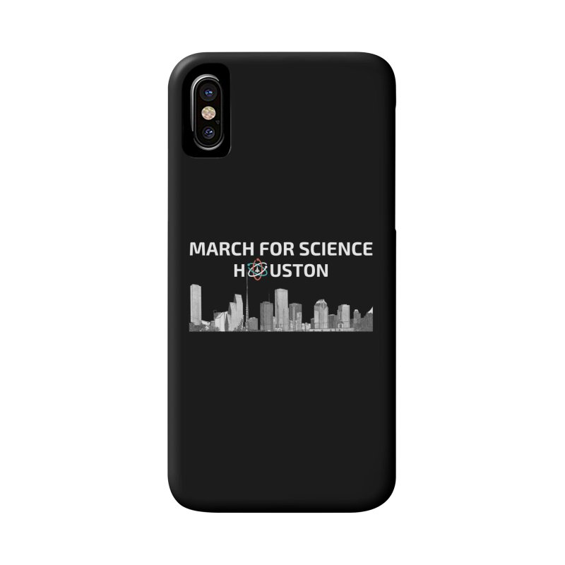 Houston Skyline - MFSH Accessories Phone Case by March for Science Houston