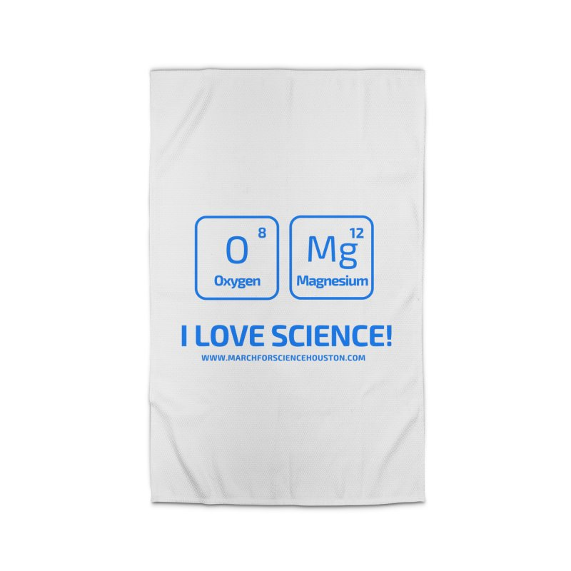 O Mg I love science! Home Rug by March for Science Houston