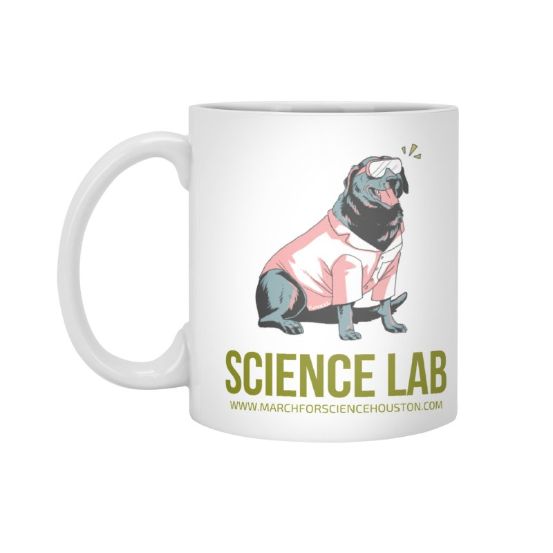 Science Lab Accessories Mug by March for Science Houston