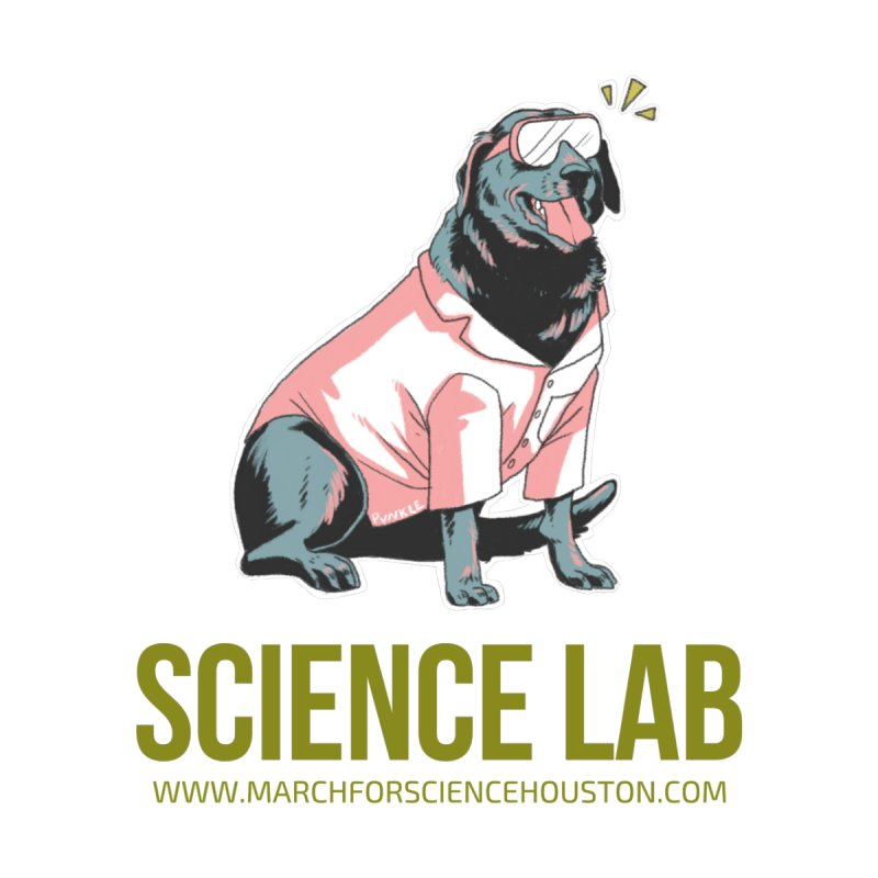 Science Lab Home Blanket by March for Science Houston