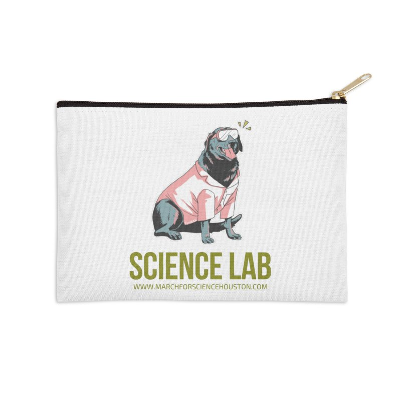Science Lab Accessories Zip Pouch by March for Science Houston