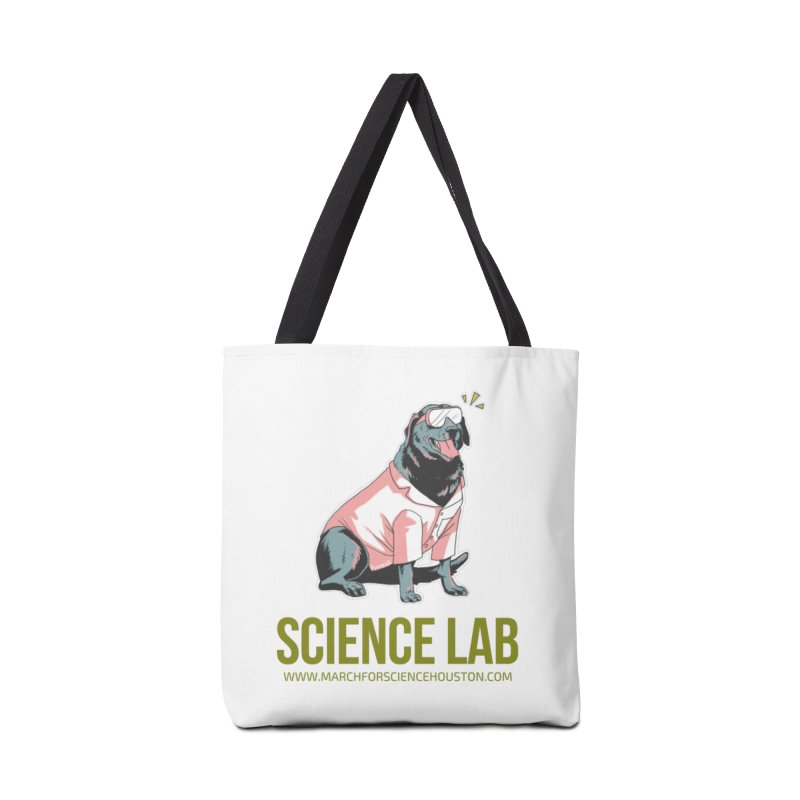 Science Lab Accessories Tote Bag Bag by March for Science Houston