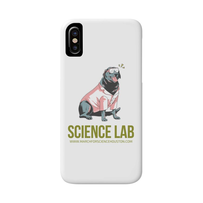 Science Lab Accessories Phone Case by March for Science Houston