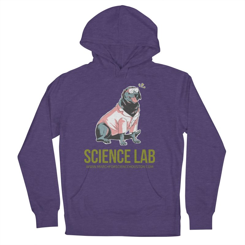 Science Lab Men's French Terry Pullover Hoody by March for Science Houston