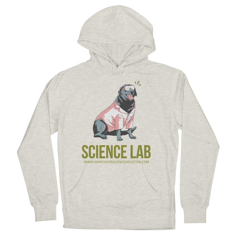 Science Lab Men's Pullover Hoody by March for Science Houston