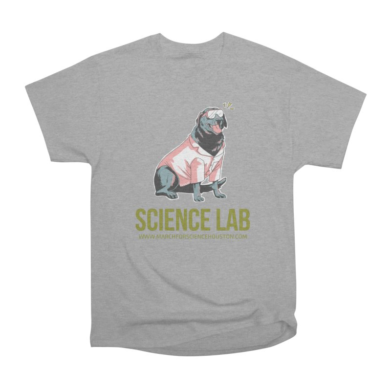 Science Lab Men's Heavyweight T-Shirt by March for Science Houston