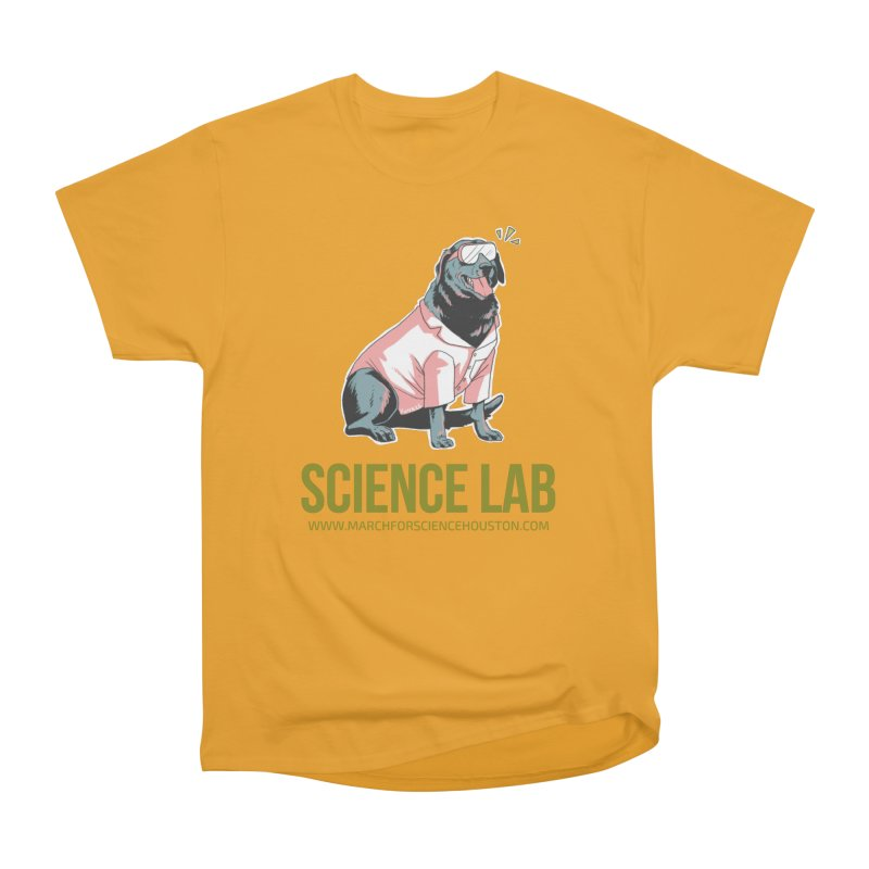 Science Lab Women's Classic Unisex T-Shirt by March for Science Houston