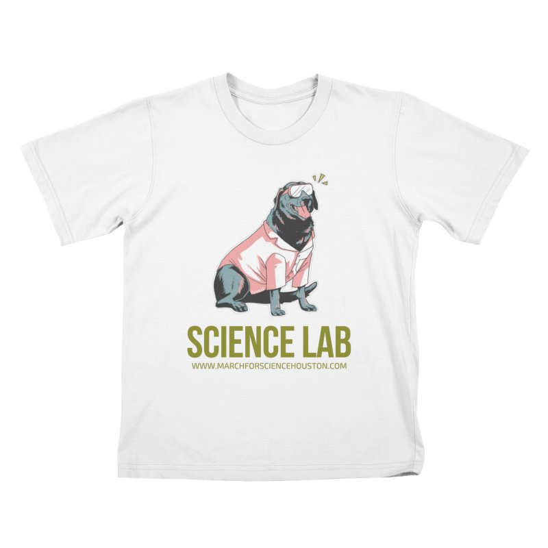 Science Lab Kids T-Shirt by March for Science Houston