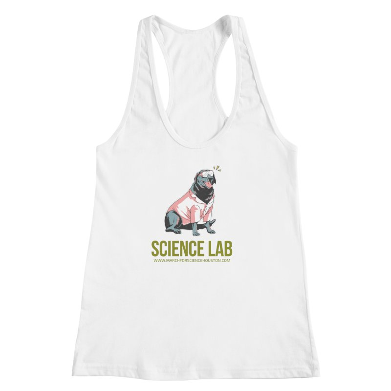 Science Lab Women's Racerback Tank by March for Science Houston