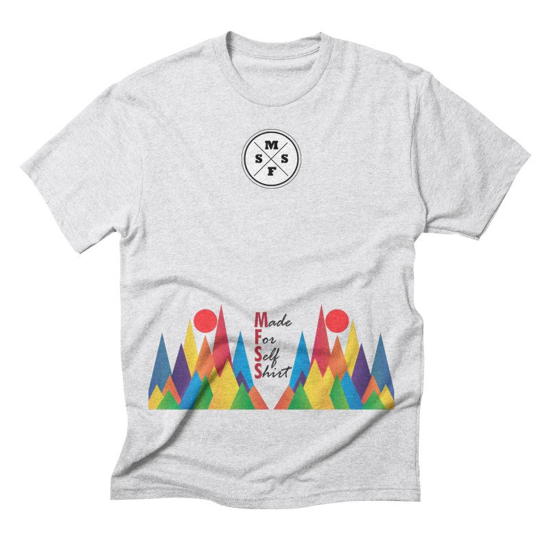 Introduction Men's Triblend T-shirt by Made For Self Shirt