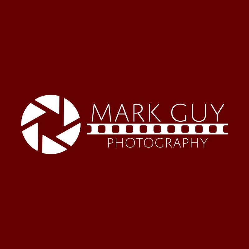 Mark Guy Photography - Official White Logo Accessories Sticker by Mark Guy Photography's Shop