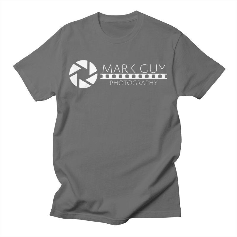 Mark Guy Photography - Official White Logo Men's T-Shirt by Mark Guy Photography's Shop