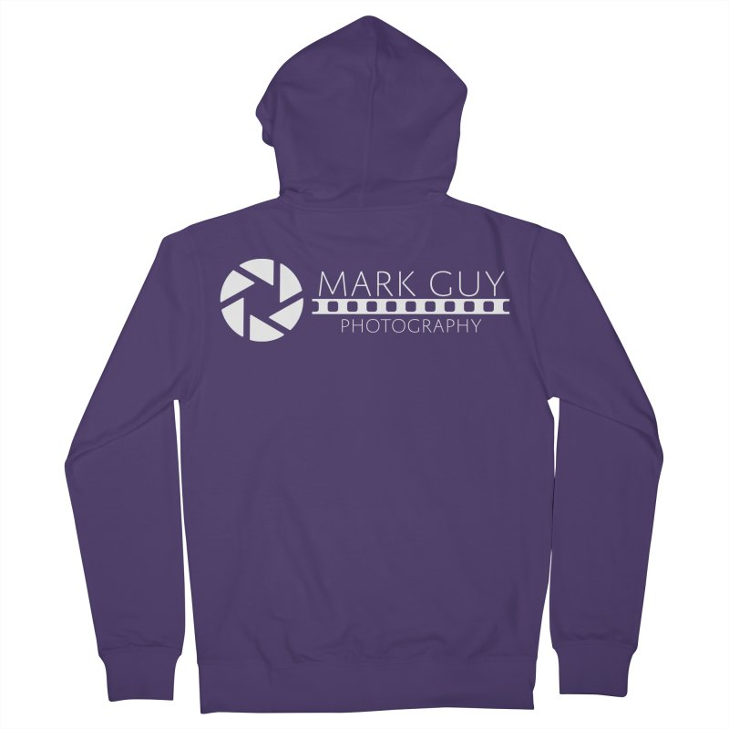 Mark Guy Photography - Official White Logo Women's Zip-Up Hoody by Mark Guy Photography's Shop