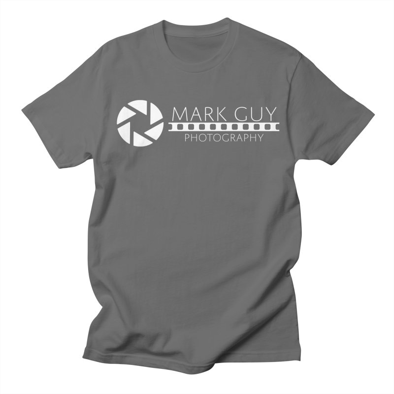 Mark Guy Photography - Official White Logo Men's T-Shirt by Mark Guy Photography's Shop