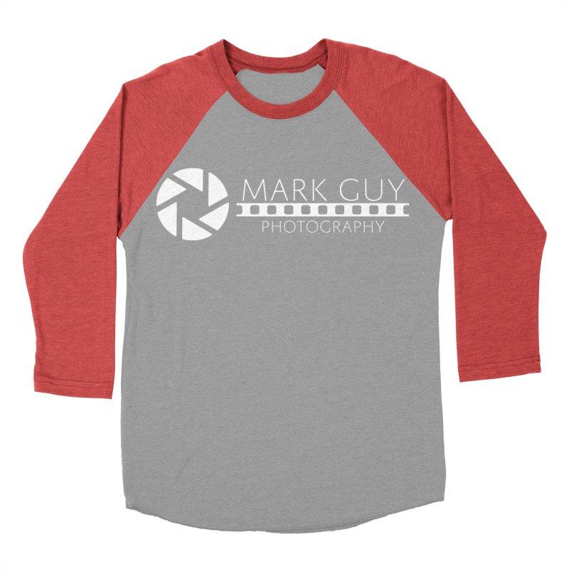 Mark Guy Photography - Official White Logo Men's Longsleeve T-Shirt by Mark Guy Photography's Shop