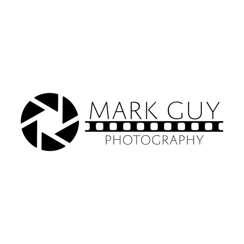 Mark Guy Photography - Official Black Logo by Mark Guy Photography's Shop