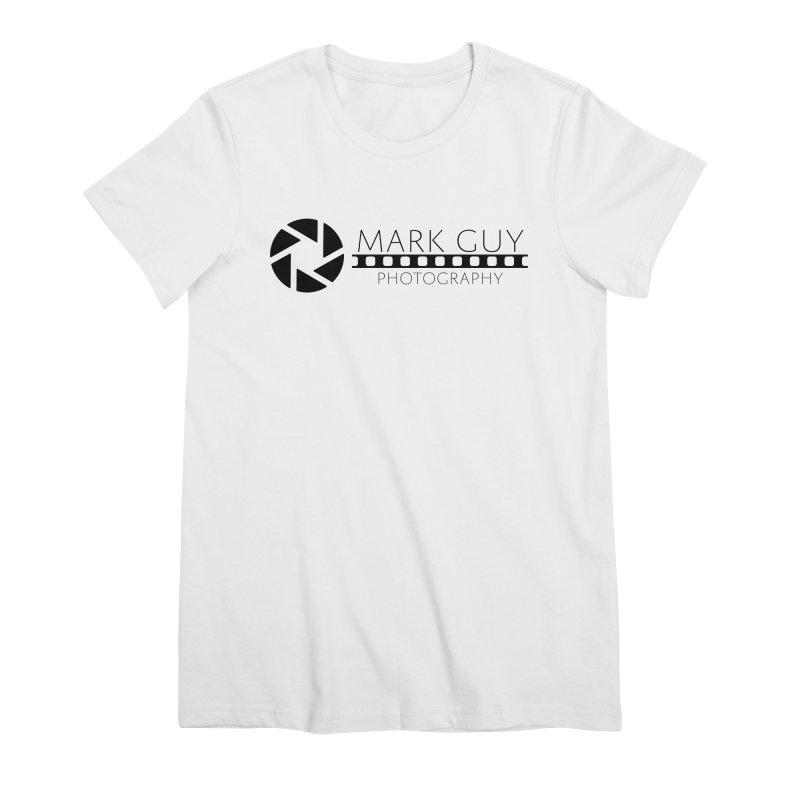 Mark Guy Photography - Official Black Logo Women's T-Shirt by Mark Guy Photography's Shop