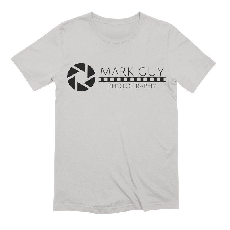 Mark Guy Photography - Official Black Logo Men's T-Shirt by Mark Guy Photography's Shop