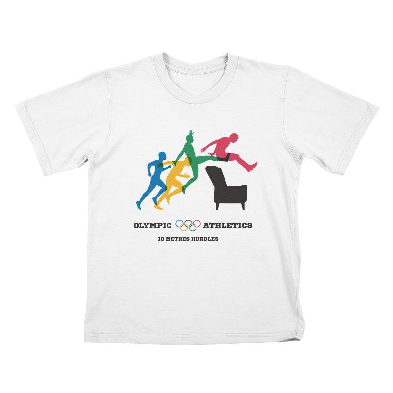 Olympic Athletics Kids Toddler T-Shirt by mhacksi's Artist Shop