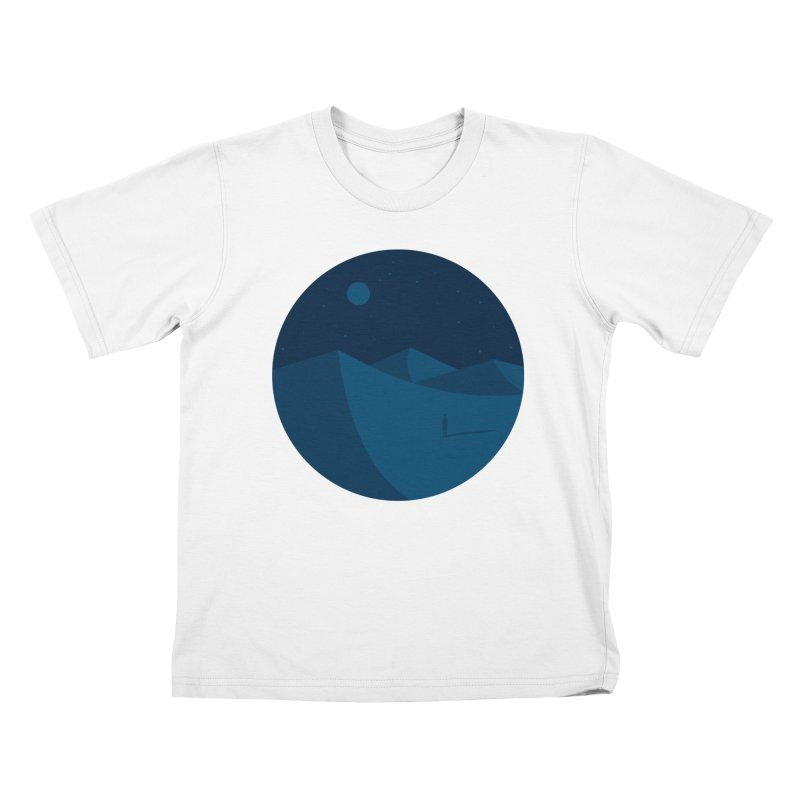 Nigth in Tunisia Kids Toddler T-Shirt by mhacksi's Artist Shop