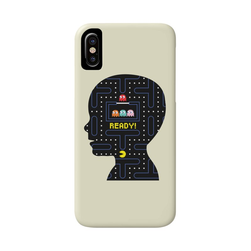 80'S child - Pacman Boy Accessories Phone Case by mhacksi's Artist Shop