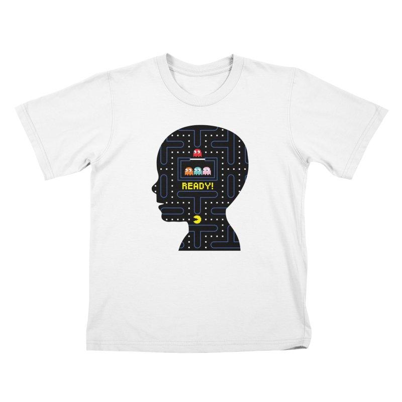 80'S child - Pacman Boy Kids Toddler T-Shirt by mhacksi's Artist Shop
