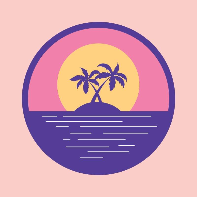 Circular Landscape - Palms by mhacksi's Artist Shop