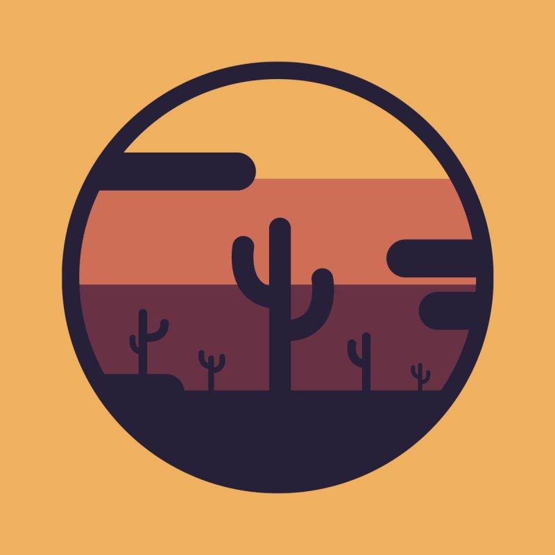 Circular Landscape - Cactus by mhacksi's Artist Shop