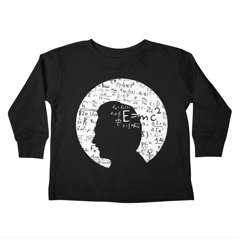 Albert Kids Toddler Longsleeve T-Shirt by mhacksi's Artist Shop