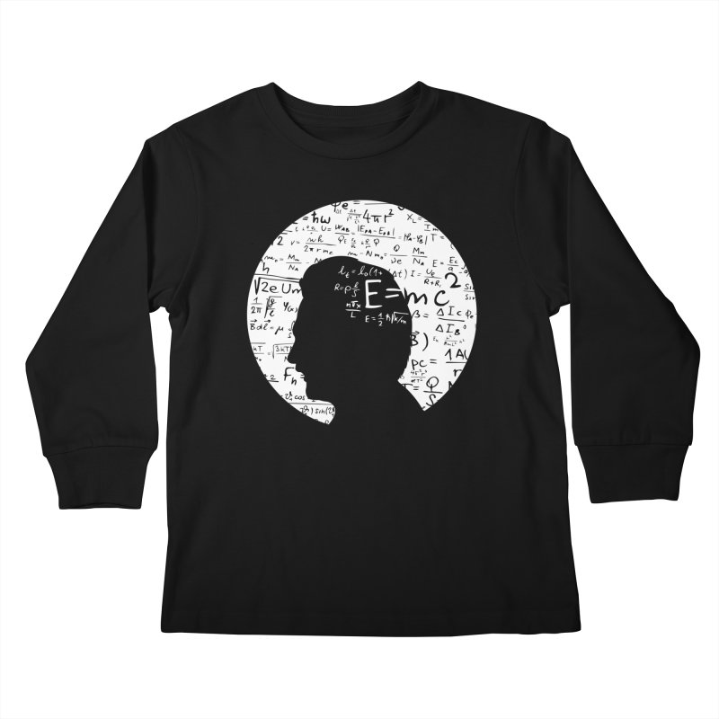 Albert Kids Longsleeve T-Shirt by mhacksi's Artist Shop